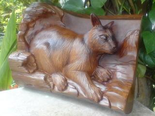 カカピアン毛彫り